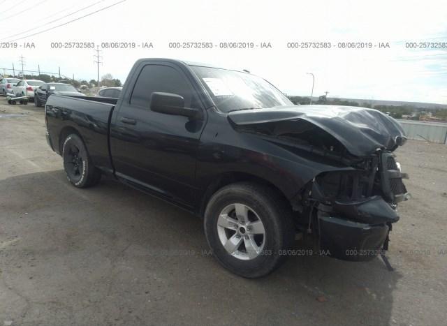 Salvage Car Ram 1500 2014 Black for sale in Albuquerque NM