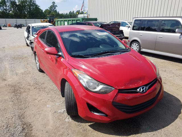salvage car hyundai elantra coupe 2013 red for sale in harleyville sc online auction kmhdh6ae4du020172 ridesafely