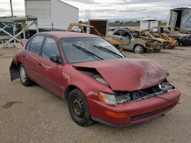 Salvage Car Toyota Corolla 1993 Red for sale in TUCSON AZ online