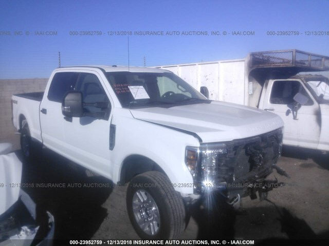 Salvage Car Ford F 250 2018 White For Sale In Phoenix Az Online