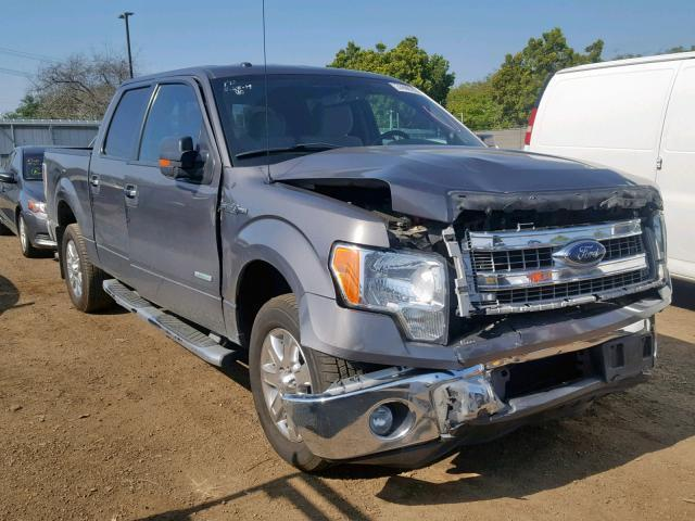 2013 F150 For Sale >> Salvage Car Ford F150 2013 Gray For Sale In San Diego Ca