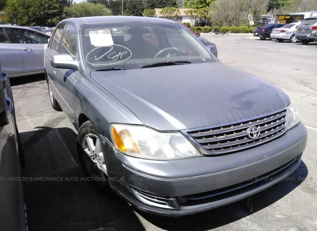 Car Auctions In Nc >> Salvage Car Toyota Avalon 2003 Gray For Sale In Graham Nc
