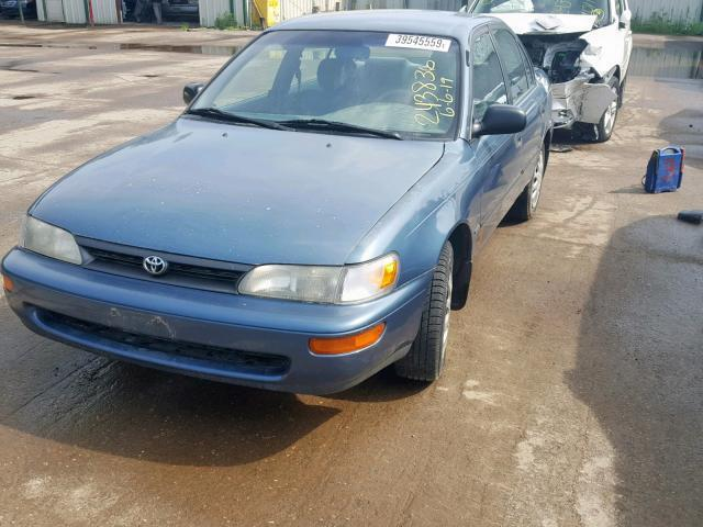 Salvage Car Toyota Corolla 1993 Blue for sale in HAM LAKE MN online