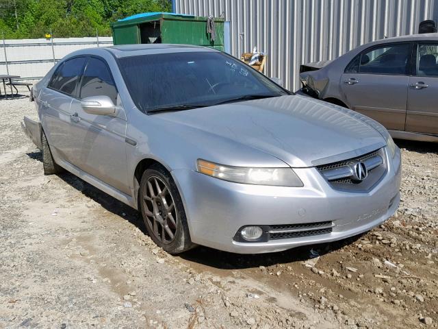 2008 Acura Tl For Sale >> Salvage Car Acura Tl 2008 Silver For Sale In Ellenwood Ga