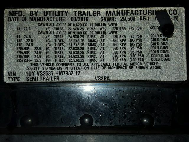 Utility 53 Ft Dry for Sale