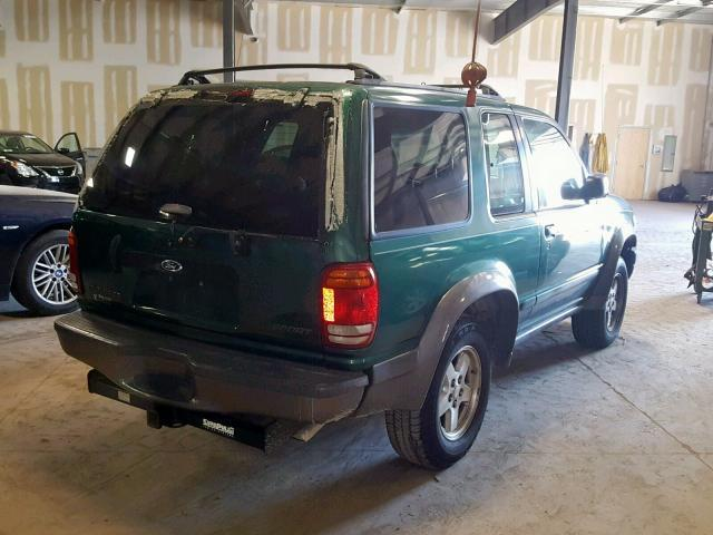 ford explorer 1999 green