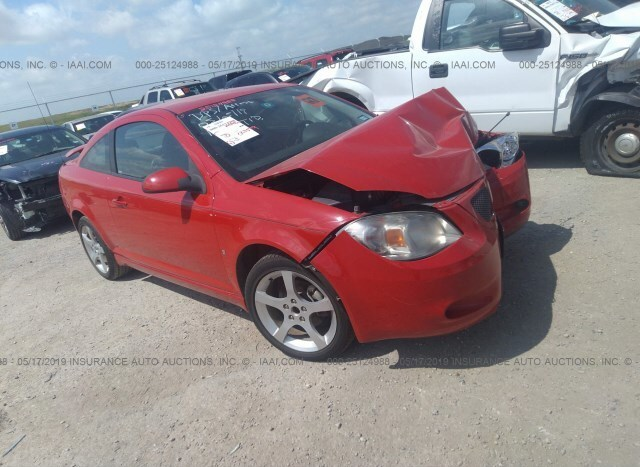 Car Auctions In Nc >> Salvage Car Pontiac G5 2009 Red For Sale In Justin Tx Online