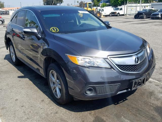 2015 Acura Rdx For Sale >> Salvage Car Acura Rdx 2015 Gray For Sale In Van Nuys Ca