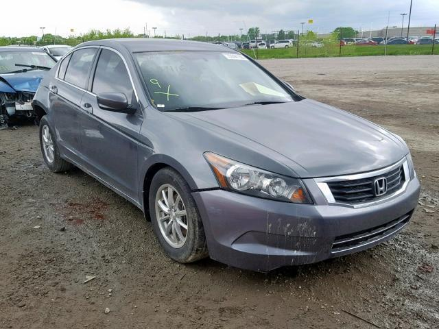2009 Honda Accord For Sale >> Salvage Car Honda Accord 2009 Silver For Sale In