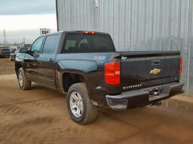 Salvage Car Chevrolet Silverado 2017 Black for sale in PHOENIX AZ