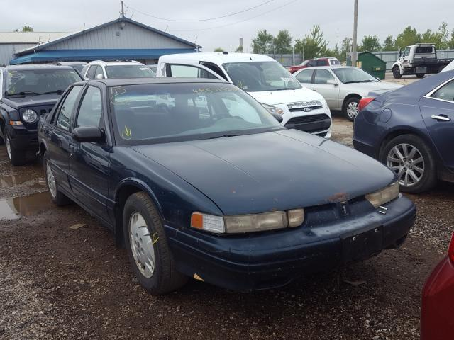 salvage car oldsmobile cutlass supreme 1997 green for sale in pekin il online auction 1g3wh52mxvf324951 ridesafely
