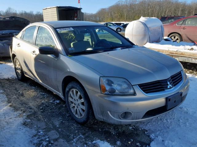 salvage car mitsubishi galant 2008 tan for sale in west warren ma