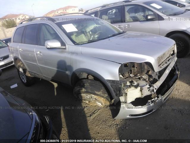 Salvage Car Volvo Xc90 2008 Silver For Sale In Phoenix Az Online