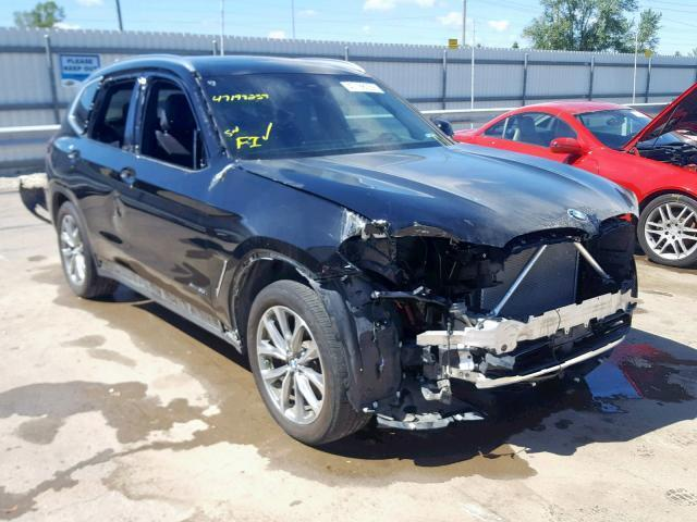 Auto Salvage Des Moines >> Auction Ended Salvage Car Bmw X3 2018 Black Is Sold In Des