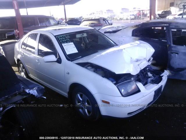 Salvage Car Volkswagen Jetta 2003 White For Sale In Phoenix Az