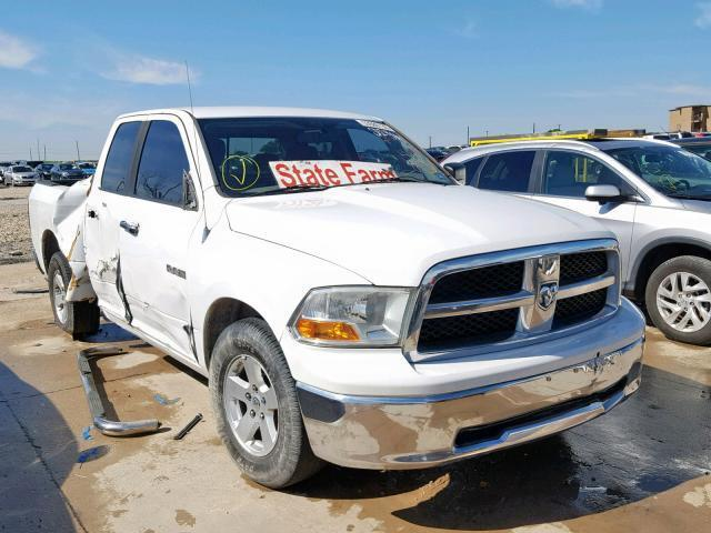 Salvage Car Dodge Ram 1500 2010 White for sale in GRAND
