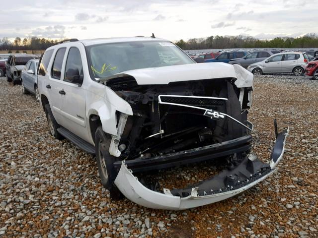 Salvage Car Chevrolet Tahoe 2007 White For Sale In Memphis