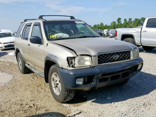 Auction Ended: Salvage Car Nissan Pathfinder 2000 Gold is