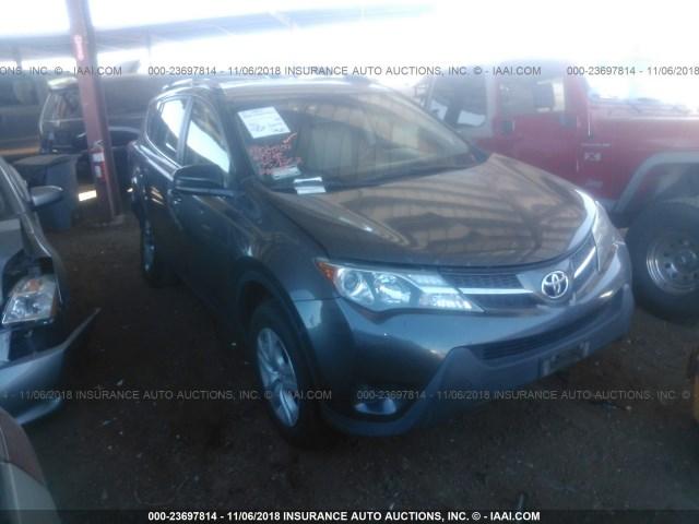 Salvage Car Toyota Rav4 2015 Gray For Sale In Phoenix Az Online