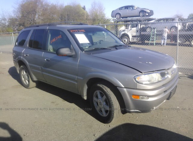 Used Car Oldsmobile Bravada 2002 Gold For Sale In Fredericksburg Va