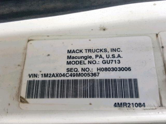 Mack Gu713 for Sale