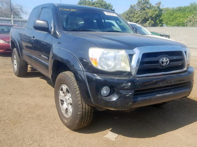 2008 Toyota Tacoma For Sale >> Salvage Car Toyota Tacoma 2008 Black For Sale In San Diego