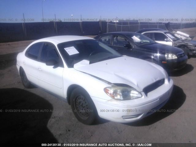 Salvage Car Ford Taurus 2006 White For Sale In Phoenix Az Online