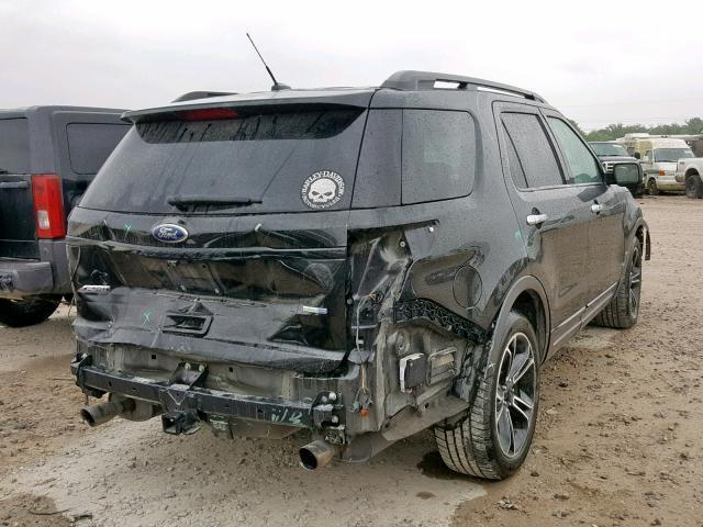 2014 Ford Explorer Sport For Sale >> Salvage Car Ford Explorer 2014 Black For Sale In Houston Tx