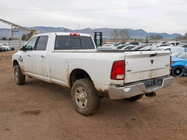 Salvage Car Ram 3500 2016 White for sale in COLORADO SPRINGS