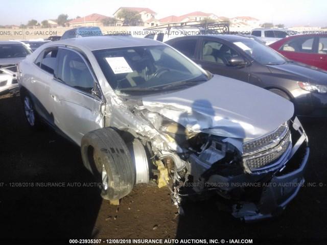 Salvage Car Chevrolet Malibu 2013 Silver For Sale In Phoenix Az