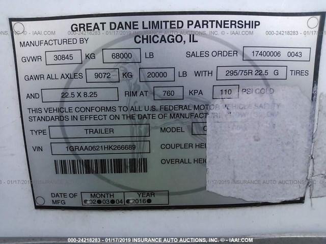 Great Dane Van for Sale