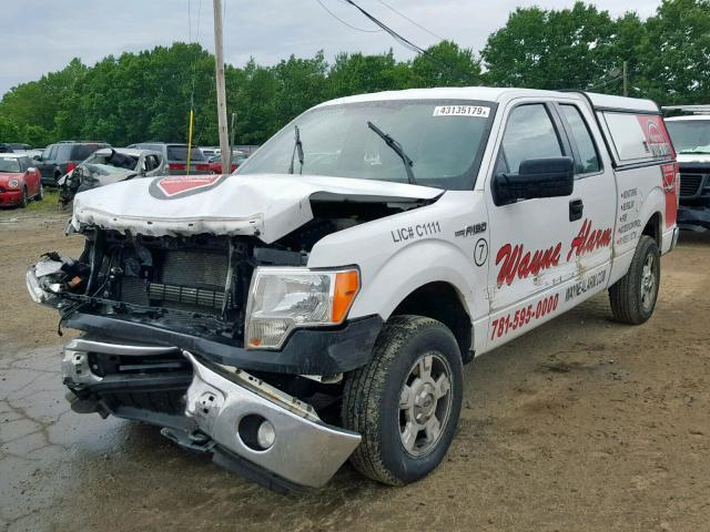2014 Ford F150 For Sale >> Salvage Car Ford F150 2014 White For Sale In North Billerica