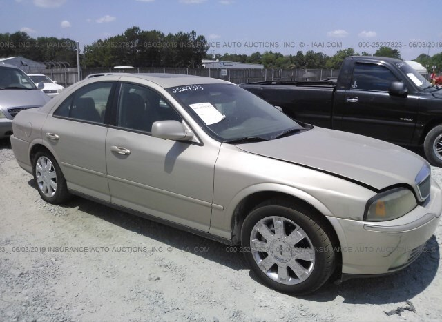 2005 Lincoln Ls V8 >> Used Car Lincoln Ls 2005 Gold For Sale In Lake City Ga
