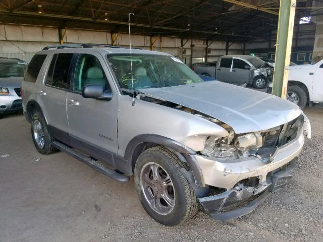 2004 Ford Explorer For Sale >> Salvage Car Ford Explorer 2004 Silver For Sale In Phoenix Az