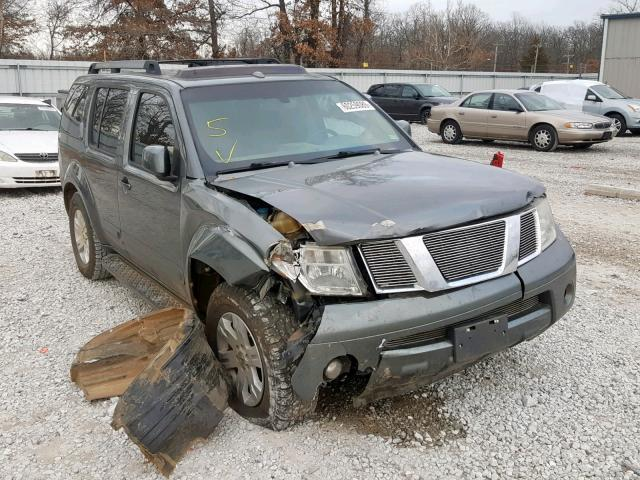 2006 Nissan Pathfinder For Sale >> Salvage Car Nissan Pathfinder 2006 Gray For Sale In