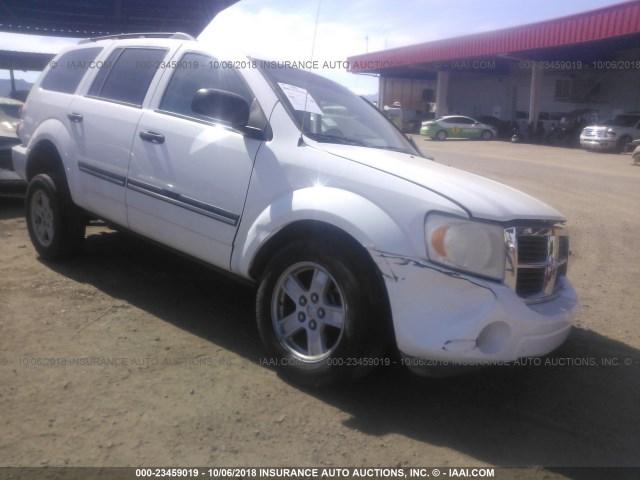 Salvage Car Dodge Durango 2007 White For Sale In Phoenix Az Online