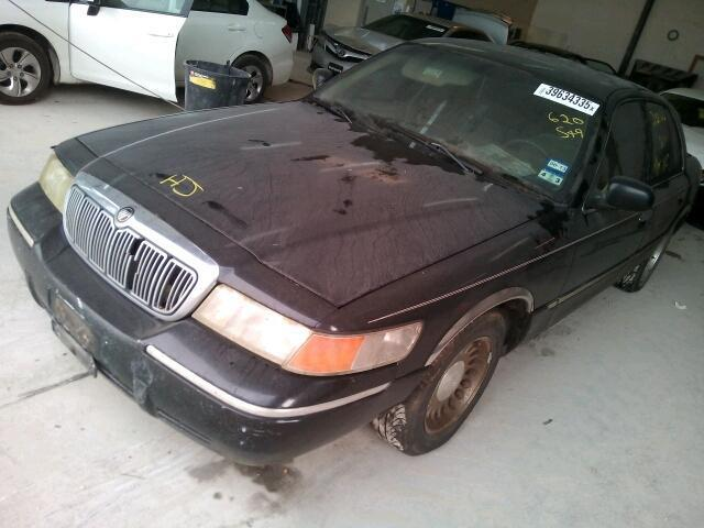 Salvage Car Mercury Grand Marquis 2000 Black for sale in NEW
