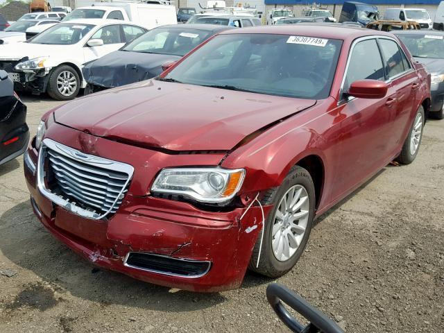 2013 Chrysler 300 For Sale >> Salvage Car Chrysler 300 2013 Burgundy For Sale In Woodhaven