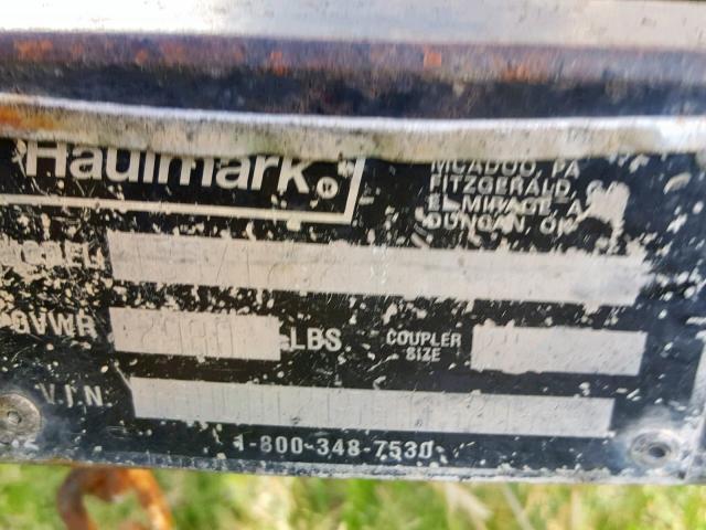 Haulmark Hd4x8ds2 for Sale