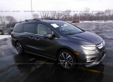 Auction Ended: Used Car Honda Odyssey 2019 Gray is Sold in ...