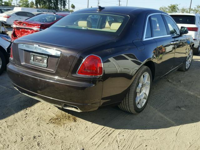 Salvage Car Rolls Royce Ghost 2014 Brown for sale in LOS ...