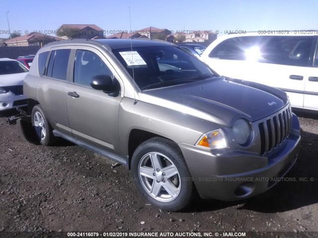 Salvage Car Jeep Compass 2007 Gold For Sale In Phoenix Az Online