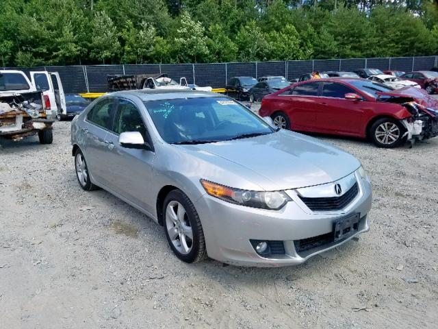 2010 Acura Tsx For Sale >> Salvage Car Acura Tsx 2010 Silver For Sale In Waldorf Md