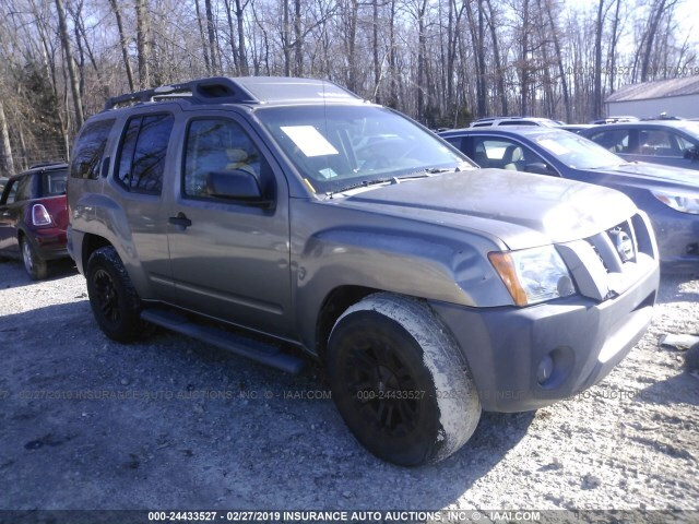 Salvage Car Nissan Xterra 2006 Brown For Sale In West Chester Oh