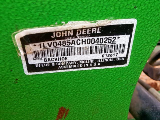 John Deere 485A for Sale