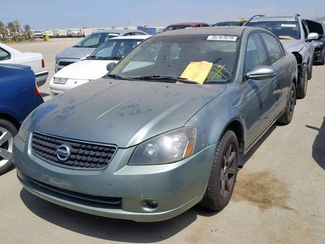 2006 Nissan Altima For Sale >> Salvage Car Nissan Altima 2006 Green For Sale In Martinez Ca