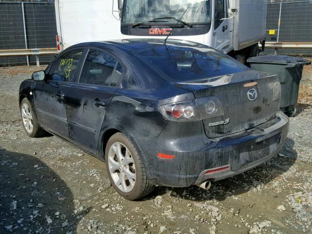 mazda 3 2009 hatchback black