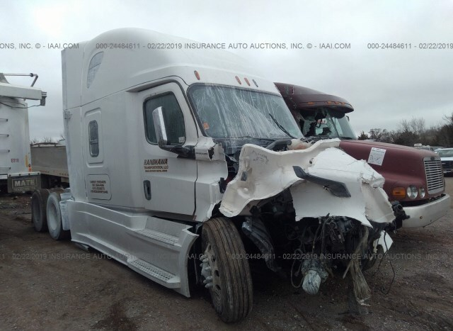 Auction Ended: Salvage Truck Freightliner Cascadia 123 2019
