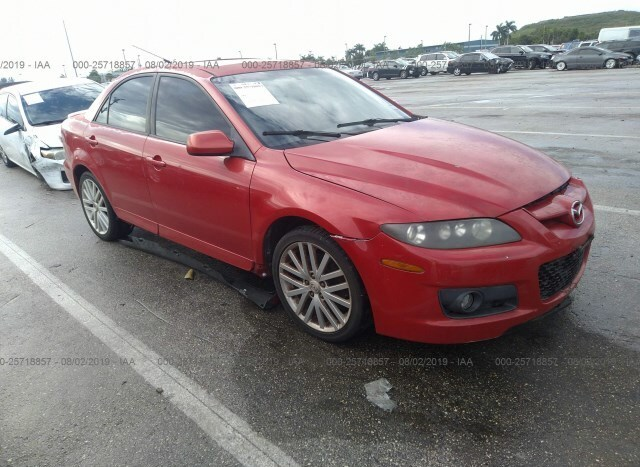 Mazdaspeed6 For Sale >> Used Car Mazda Mazdaspeed6 2007 Red For Sale In Pembroke