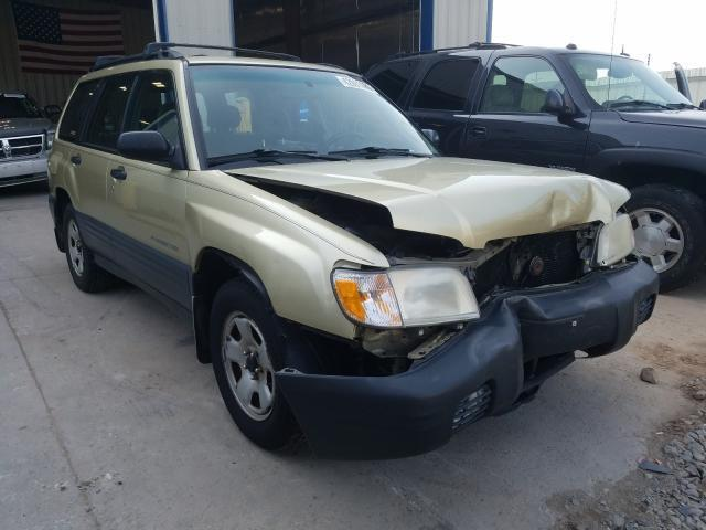 used car subaru forester 2001 gold for sale in appleton wi online auction jf1sf635x1h706970 ridesafely
